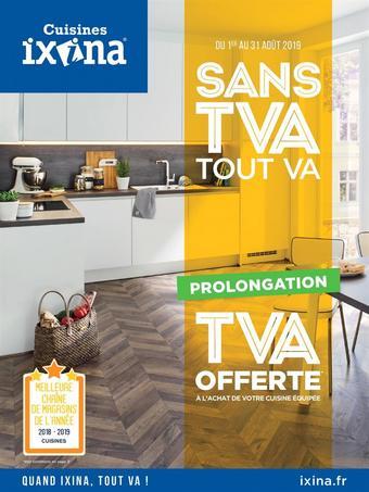 Ixina catalogue publicitaire (valable jusqu'au 31-08)