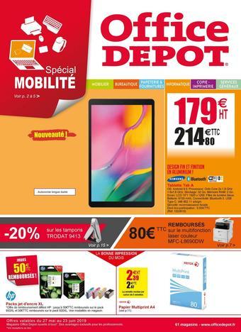 Office Depot catalogue publicitaire (valable jusqu'au 23-06)