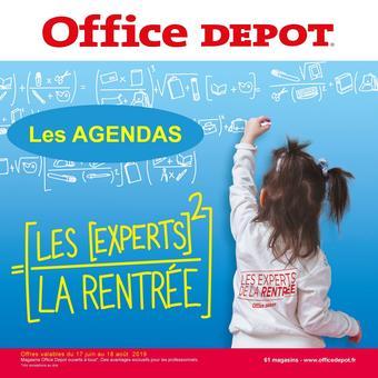 Office Depot catalogue publicitaire (valable jusqu'au 28-06)