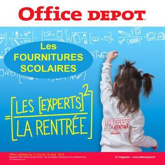 Office Depot catalogue publicitaire (valable jusqu'au 18-08)