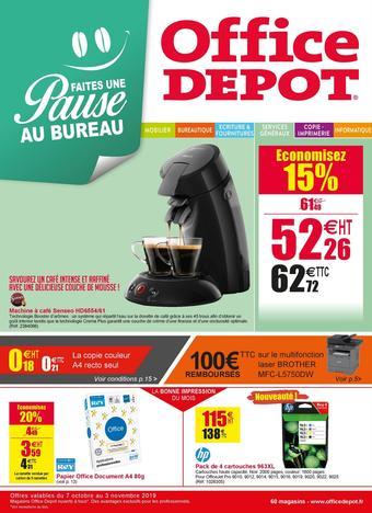 Office Depot catalogue publicitaire (valable jusqu'au 03-11)
