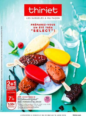 Thiriet catalogue publicitaire (valable jusqu'au 16-06)