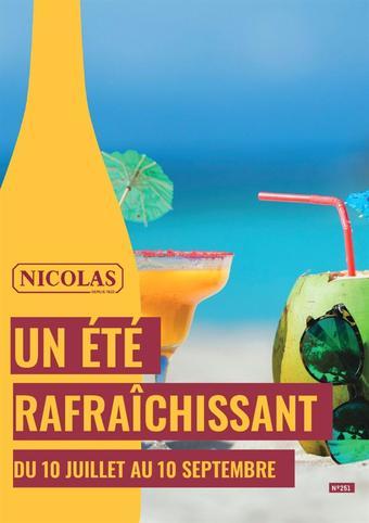 Nicolas catalogue publicitaire (valable jusqu'au 10-09)