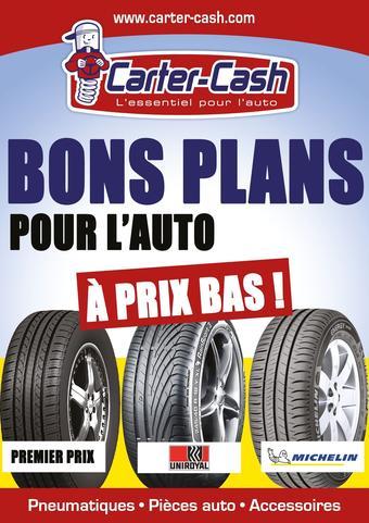Carter-Cash catalogue publicitaire (valable jusqu'au 03-07)