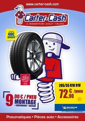 Carter-Cash catalogue publicitaire (valable jusqu'au 16-07)