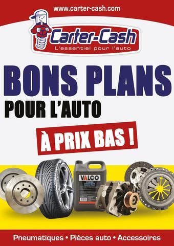 Carter-Cash catalogue publicitaire (valable jusqu'au 23-07)