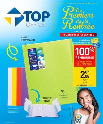Top Office catalogue publicitaire (valable jusqu'au 08-09)