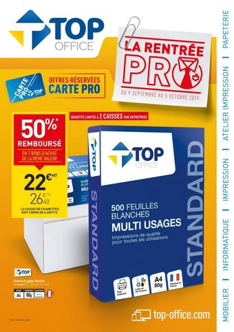 Top Office catalogue publicitaire (valable jusqu'au 22-09)