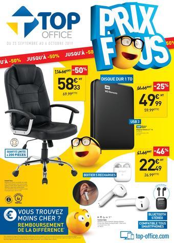 Top Office catalogue publicitaire (valable jusqu'au 06-10)