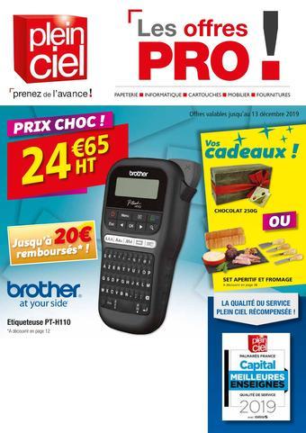 catalogue publicitaire (valable jusqu'au 13-12)