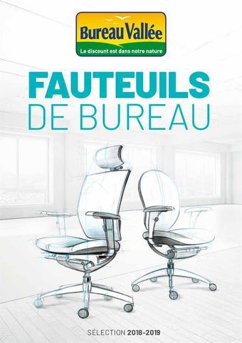 Bureau Vallée catalogue publicitaire (valable jusqu'au 30-06)