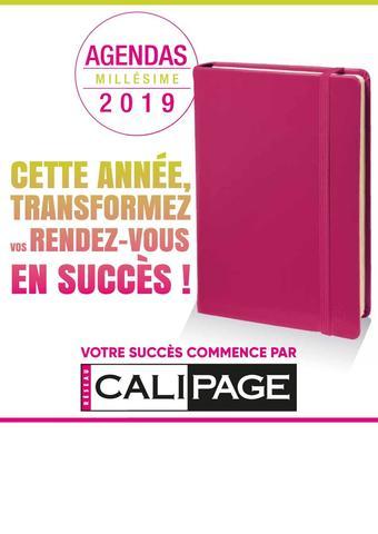 Calipage catalogue publicitaire (valable jusqu'au 31-12)