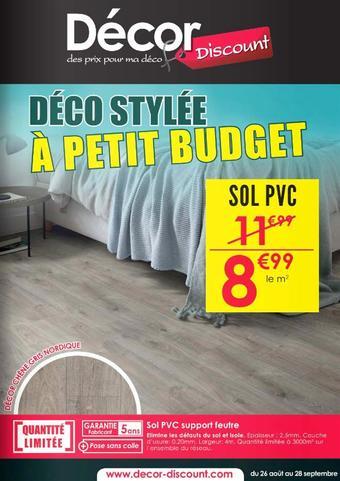 Décor Discount catalogue publicitaire (valable jusqu'au 28-09)
