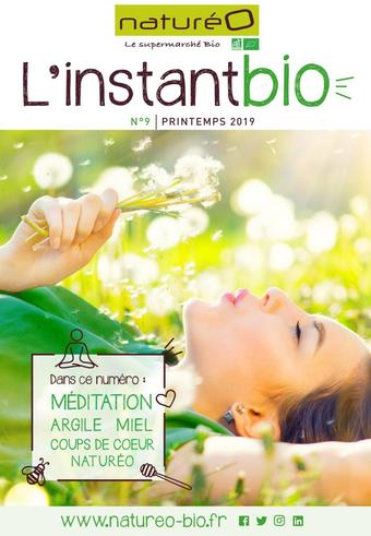 naturéO catalogue publicitaire (valable jusqu'au 30-05)
