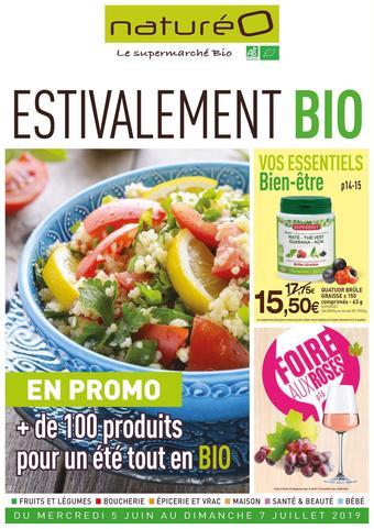naturéO catalogue publicitaire (valable jusqu'au 07-07)