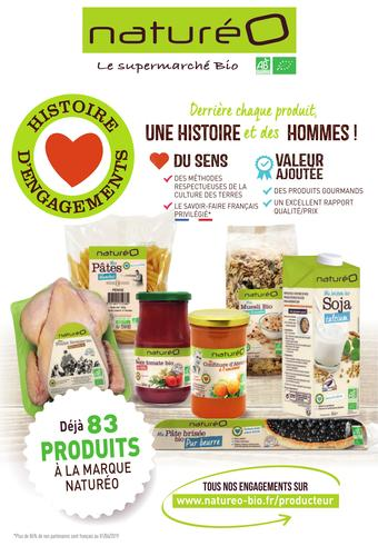 naturéO catalogue publicitaire (valable jusqu'au 04-07)