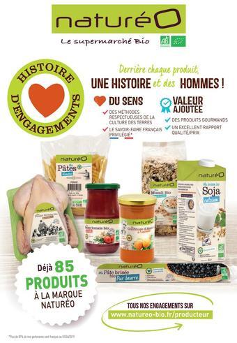 naturéO catalogue publicitaire (valable jusqu'au 31-08)