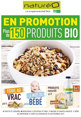 naturéO catalogue publicitaire (valable jusqu'au 22-09)