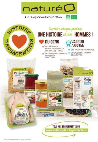 naturéO catalogue publicitaire (valable jusqu'au 13-10)