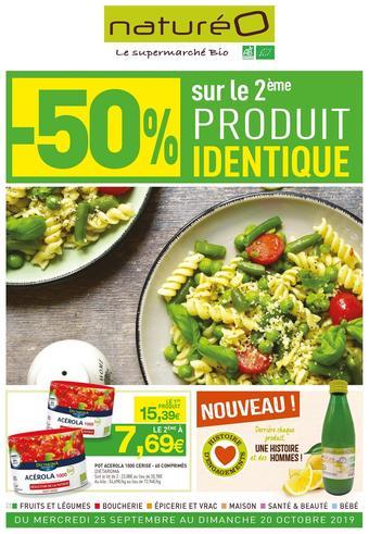 naturéO catalogue publicitaire (valable jusqu'au 20-10)