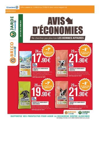 E.Leclerc Brico catalogue publicitaire (valable jusqu'au 22-06)
