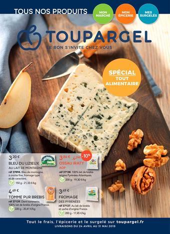 Toupargel catalogue publicitaire (valable jusqu'au 31-05)