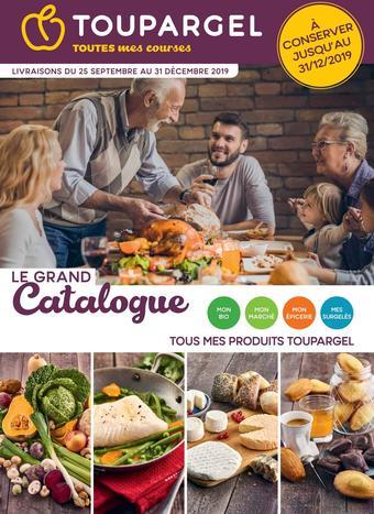 Toupargel catalogue publicitaire (valable jusqu'au 31-12)