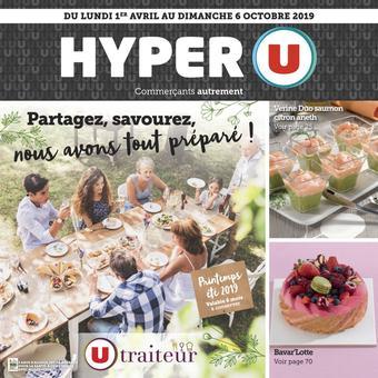 Hyper U catalogue publicitaire (valable jusqu'au 06-09)