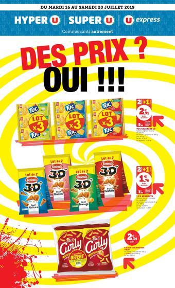 Hyper U catalogue publicitaire (valable jusqu'au 20-07)