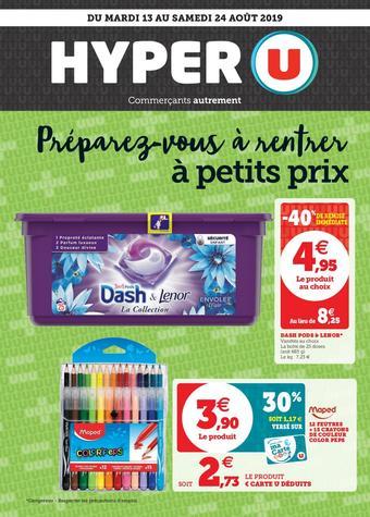 Hyper U catalogue – Toutes les promotions dans les nouveaux Hyper U ...