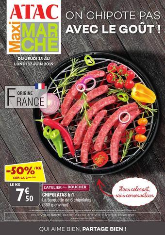 Maximarché catalogue publicitaire (valable jusqu'au 17-06)