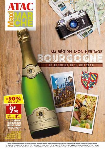 Maximarché catalogue publicitaire (valable jusqu'au 18-08)