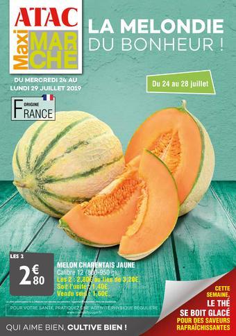 Maximarché catalogue publicitaire (valable jusqu'au 29-07)