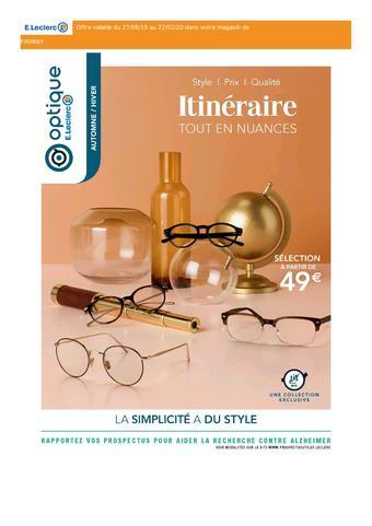 E.Leclerc Optique catalogue publicitaire (valable jusqu'au 22-02)