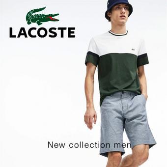 Lacoste catalogue publicitaire (valable jusqu'au 12-08)