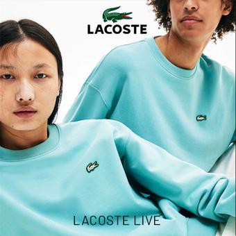 Lacoste catalogue publicitaire (valable jusqu'au 31-07)