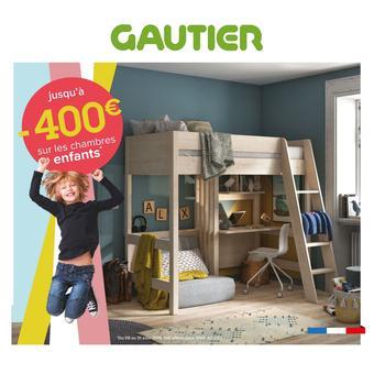 Gautier catalogue publicitaire (valable jusqu'au 31-08)