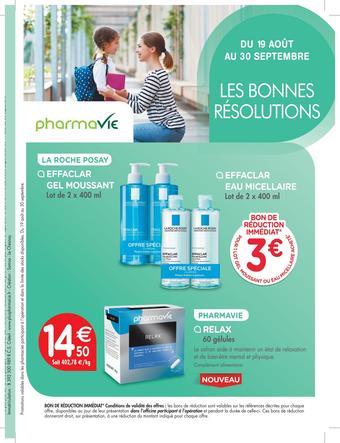 Pharmavie catalogue publicitaire (valable jusqu'au 30-09)