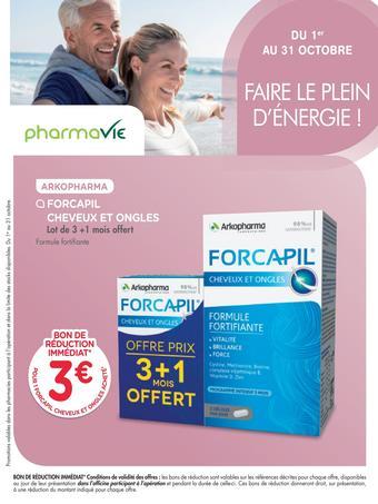 Pharmavie catalogue publicitaire (valable jusqu'au 30-10)