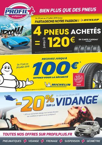 Profil Plus catalogue publicitaire (valable jusqu'au 27-07)