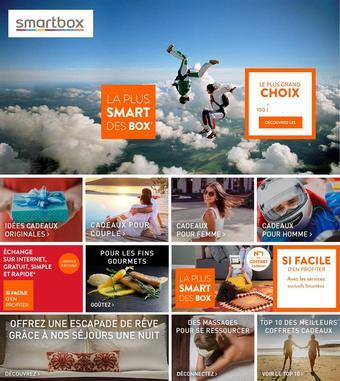 Smartbox catalogue publicitaire (valable jusqu'au 13-01)