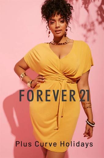 Forever 21 catalogue publicitaire (valable jusqu'au 29-07)