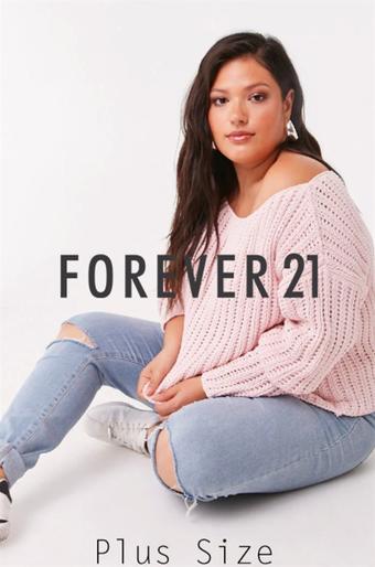 Forever 21 catalogue publicitaire (valable jusqu'au 07-10)