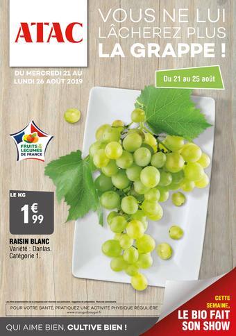 ATAC catalogue publicitaire (valable jusqu'au 29-08)