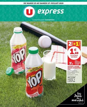 U Express catalogue publicitaire (valable jusqu'au 27-07)
