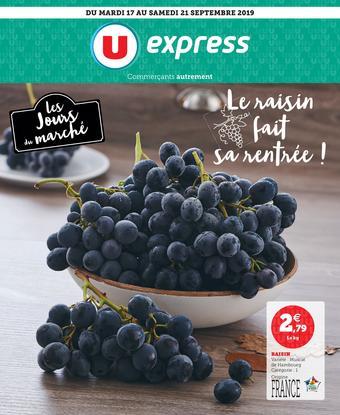 U Express catalogue publicitaire (valable jusqu'au 28-09)