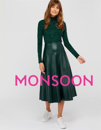 Monsoon catalogue publicitaire (valable jusqu'au 30-10)