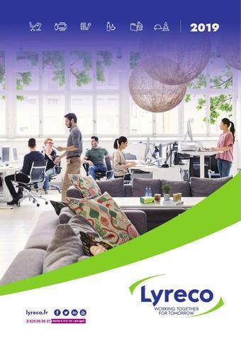 Lyreco catalogue publicitaire (valable jusqu'au 31-12)