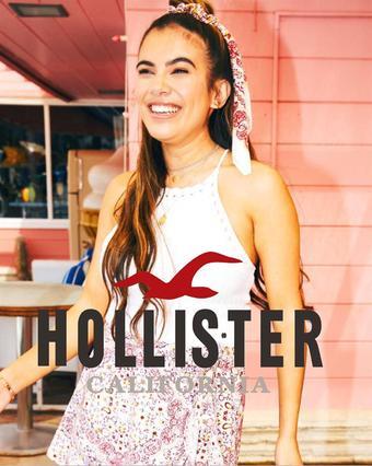 Hollister catalogue publicitaire (valable jusqu'au 10-10)