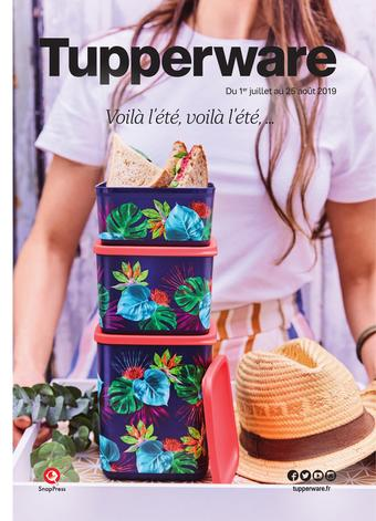Tupperware catalogue publicitaire (valable jusqu'au 25-08)